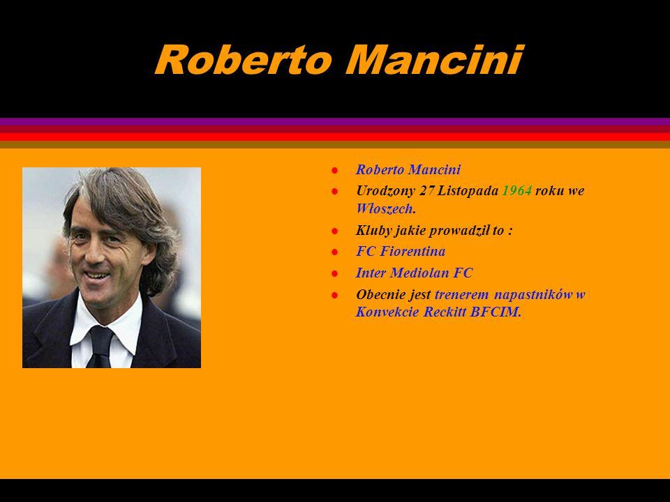 Roberto Mancini Roberto Mancini