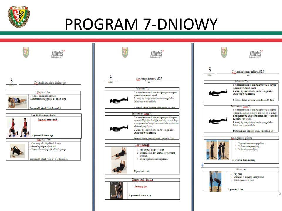 PROGRAM 7-DNIOWY