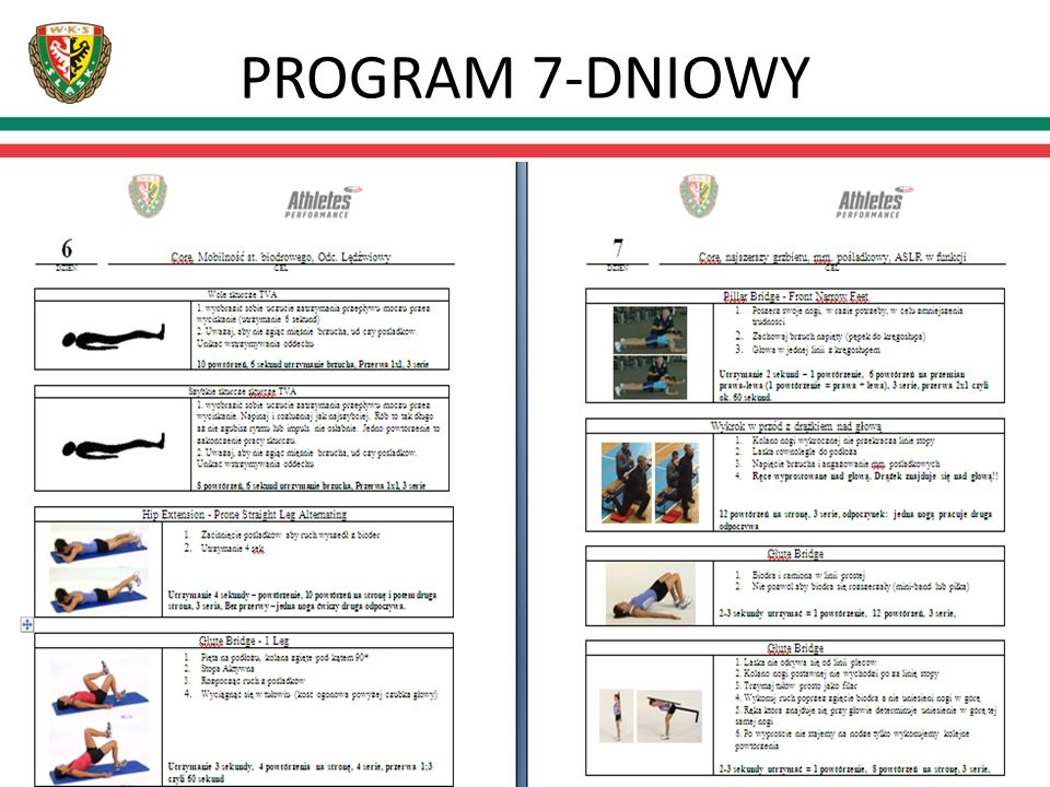 PROGRAM 7-DNIOWY