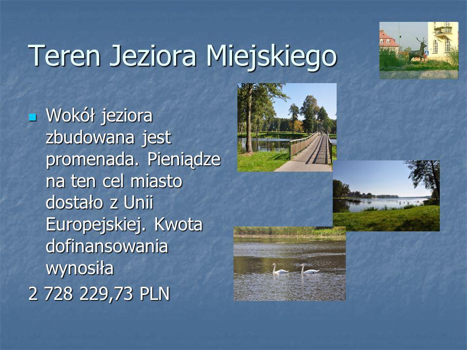Teren Jeziora Miejskiego