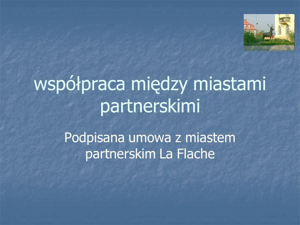 współpraca między miastami partnerskimi