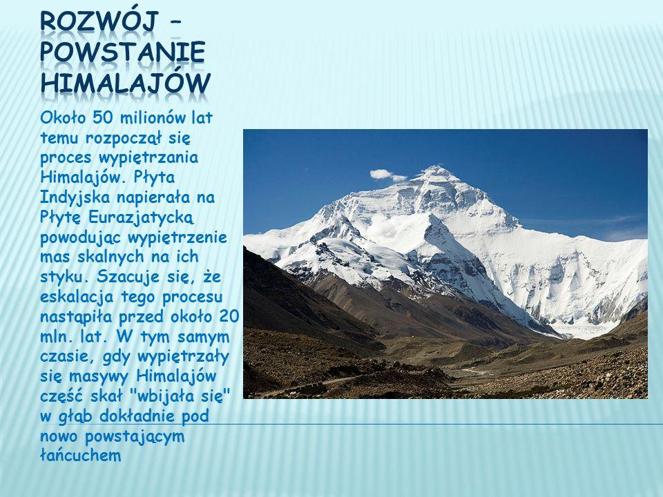 Rozwój – powstanie Himalajów