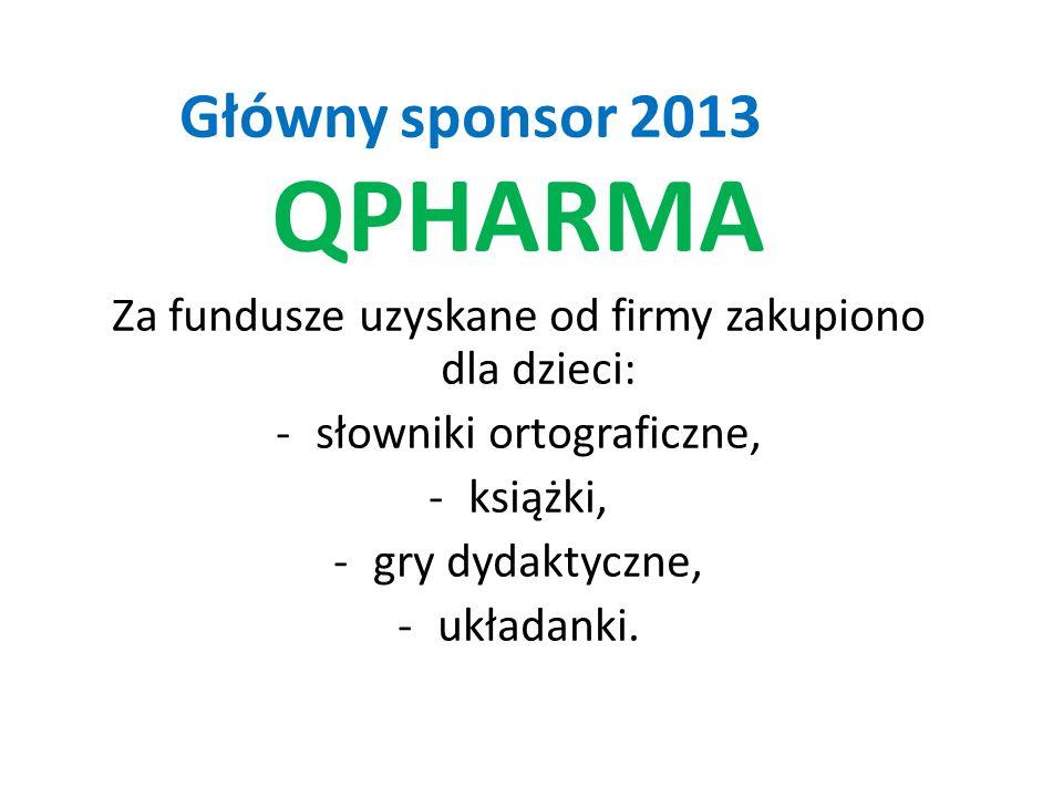 QPHARMA Główny sponsor 2013