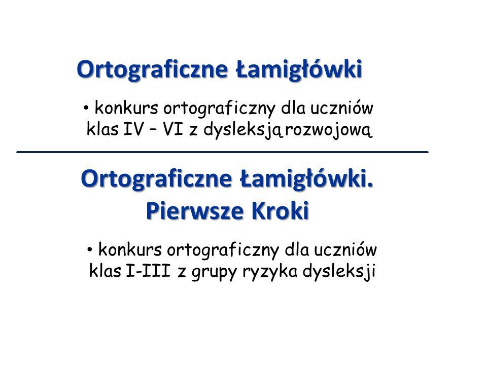 Ortograficzne Łamigłówki Ortograficzne Łamigłówki. Pierwsze Kroki