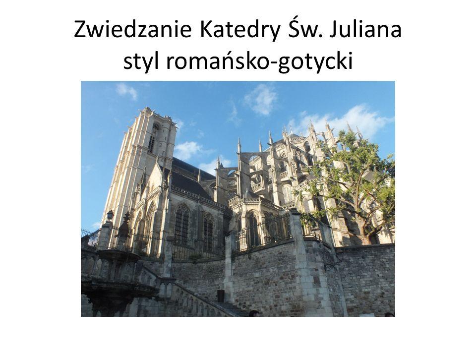 Zwiedzanie Katedry Św. Juliana styl romańsko-gotycki