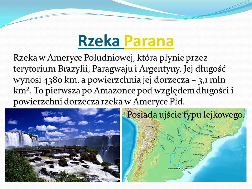 Rzeka Parana