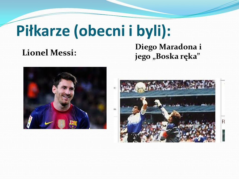 Piłkarze (obecni i byli):