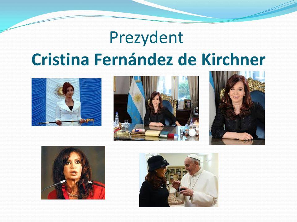 Prezydent Cristina Fernández de Kirchner