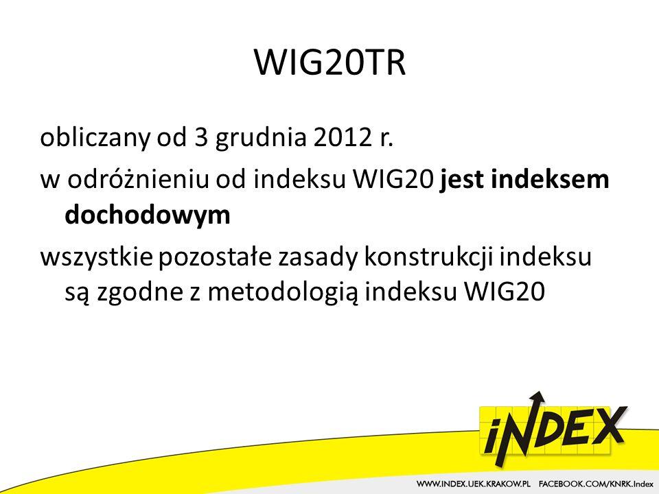 WIG20TR