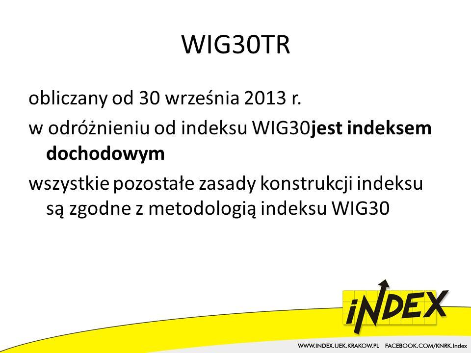 WIG30TR