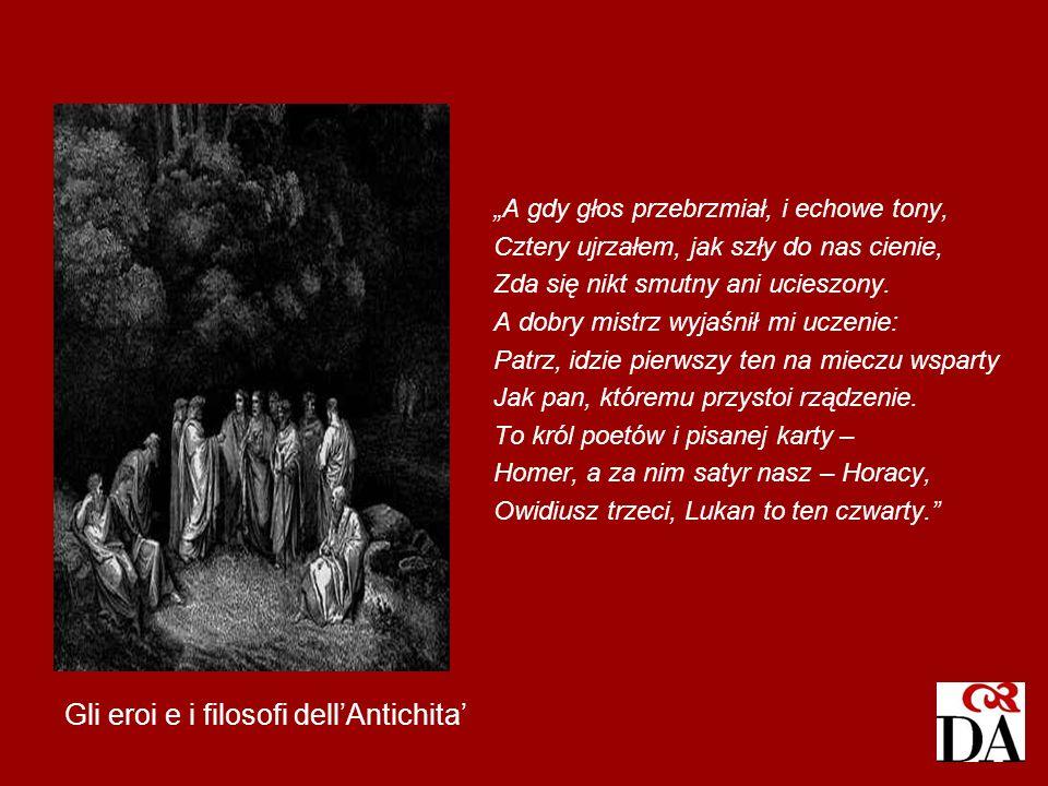 Gli eroi e i filosofi dell'Antichita'