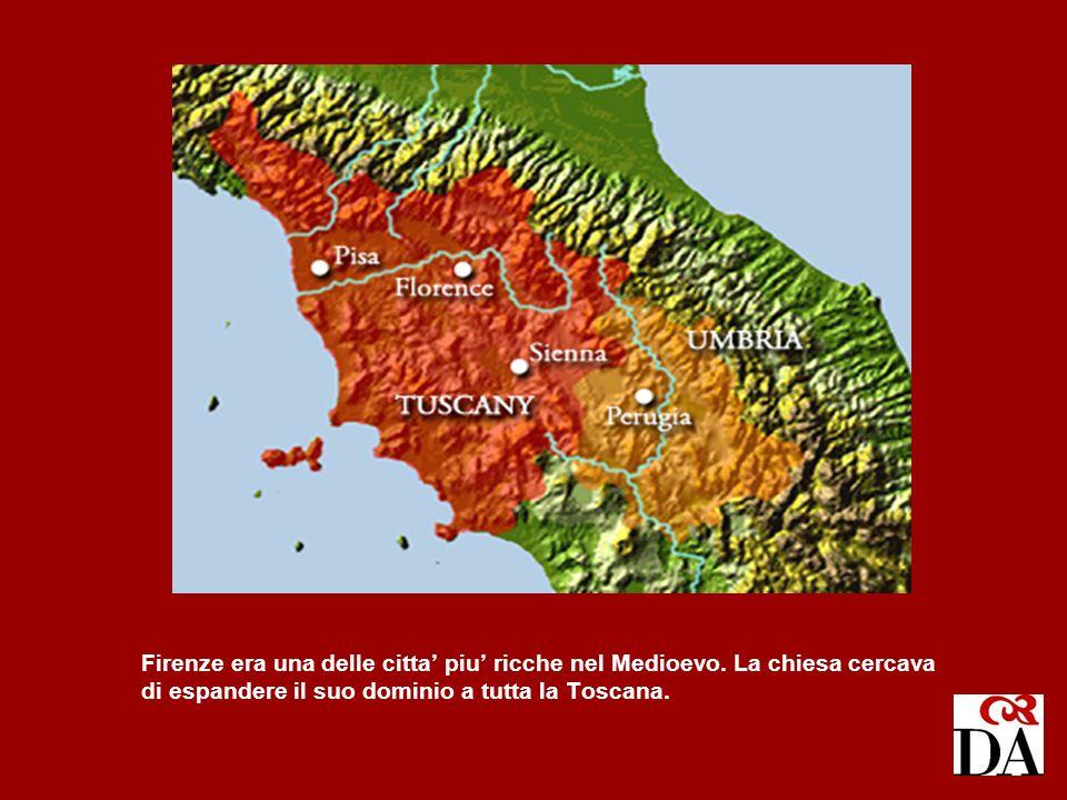 Firenze era una delle citta' piu' ricche nel Medioevo