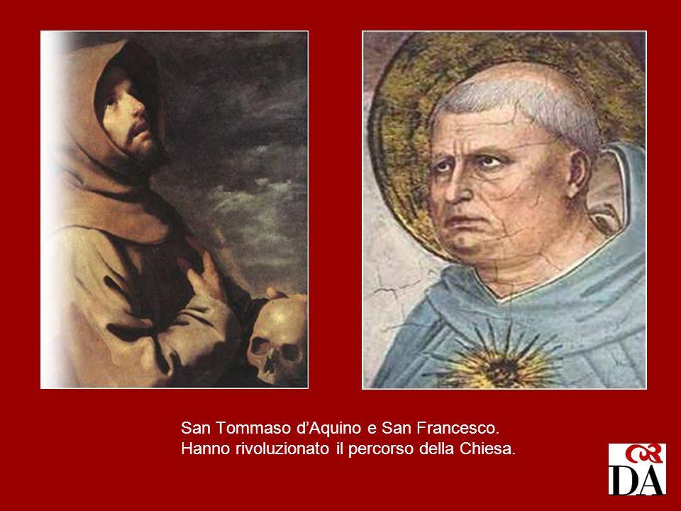 San Tommaso d'Aquino e San Francesco