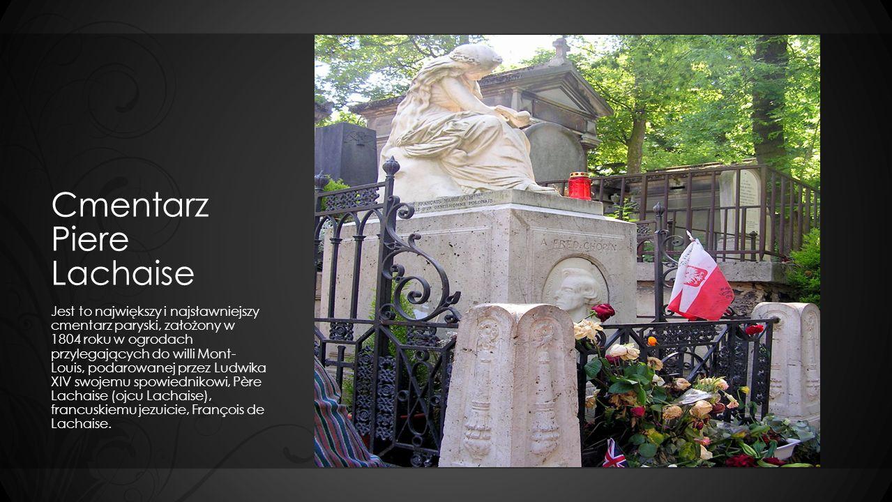 Cmentarz Piere Lachaise