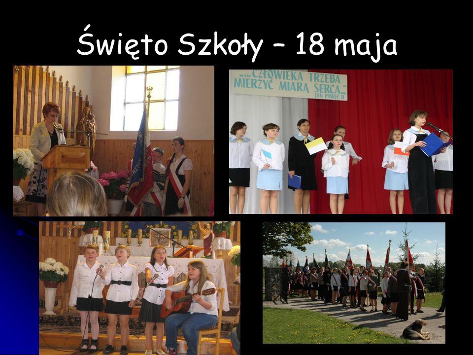 Święto Szkoły – 18 maja
