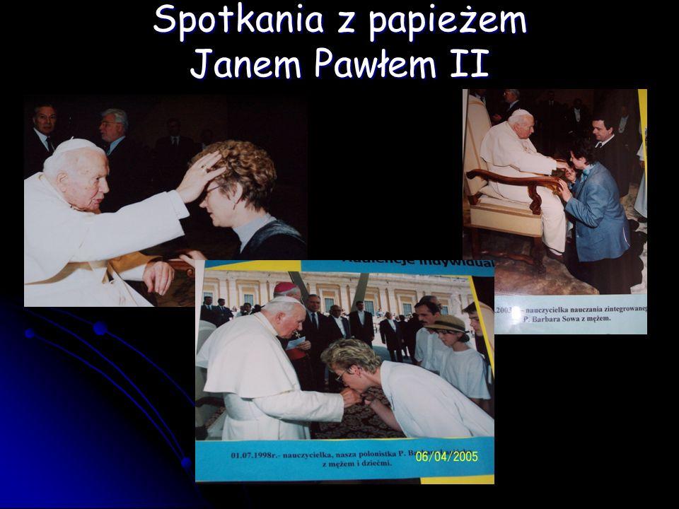Spotkania z papieżem Janem Pawłem II