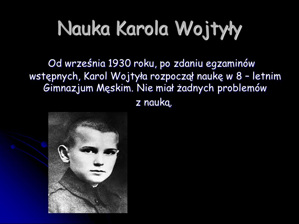 Nauka Karola Wojtyły