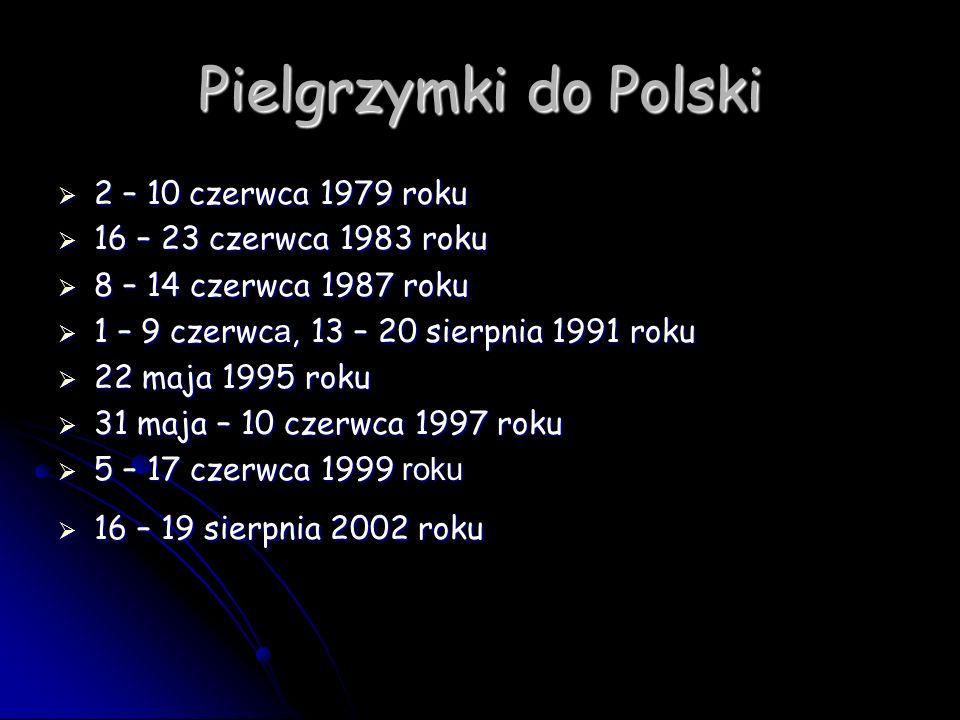 Pielgrzymki do Polski 2 – 10 czerwca 1979 roku