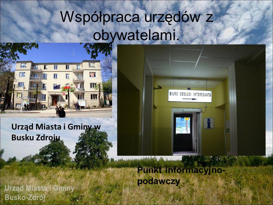 Współpraca urzędów z obywatelami.