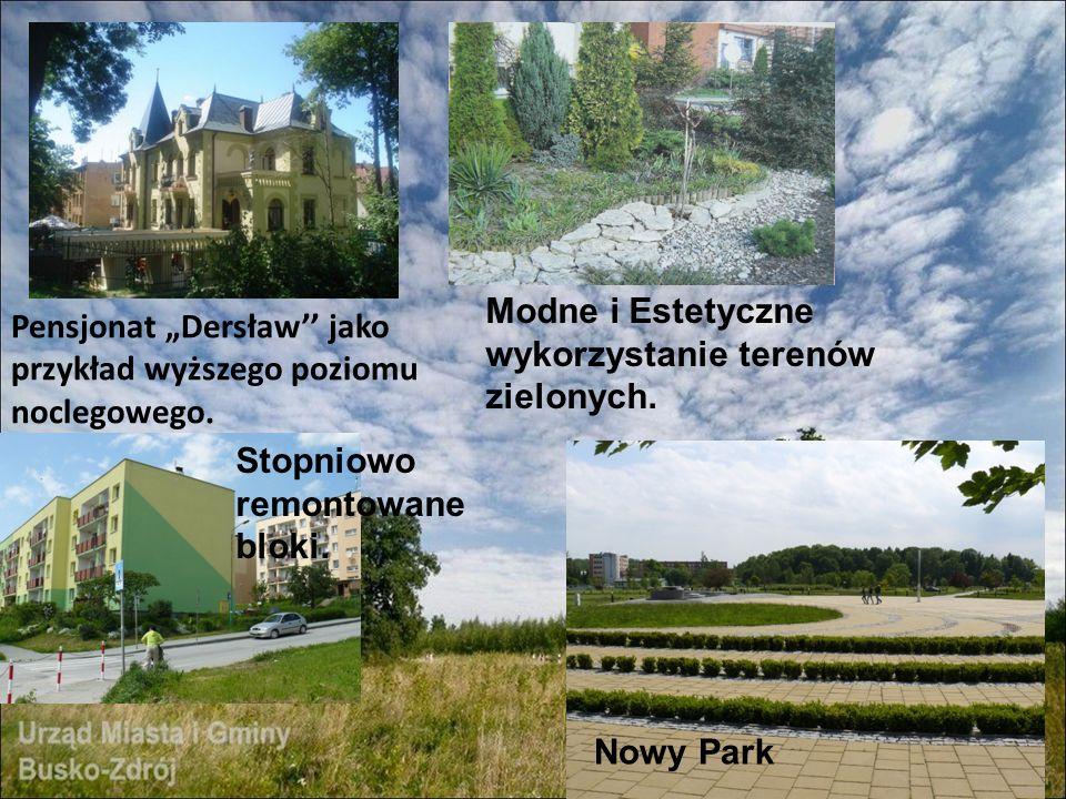 Modne i Estetyczne wykorzystanie terenów zielonych.