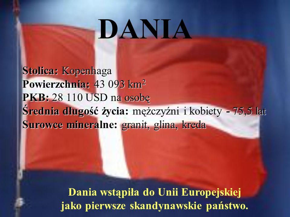 Dania wstąpiła do Unii Europejskiej