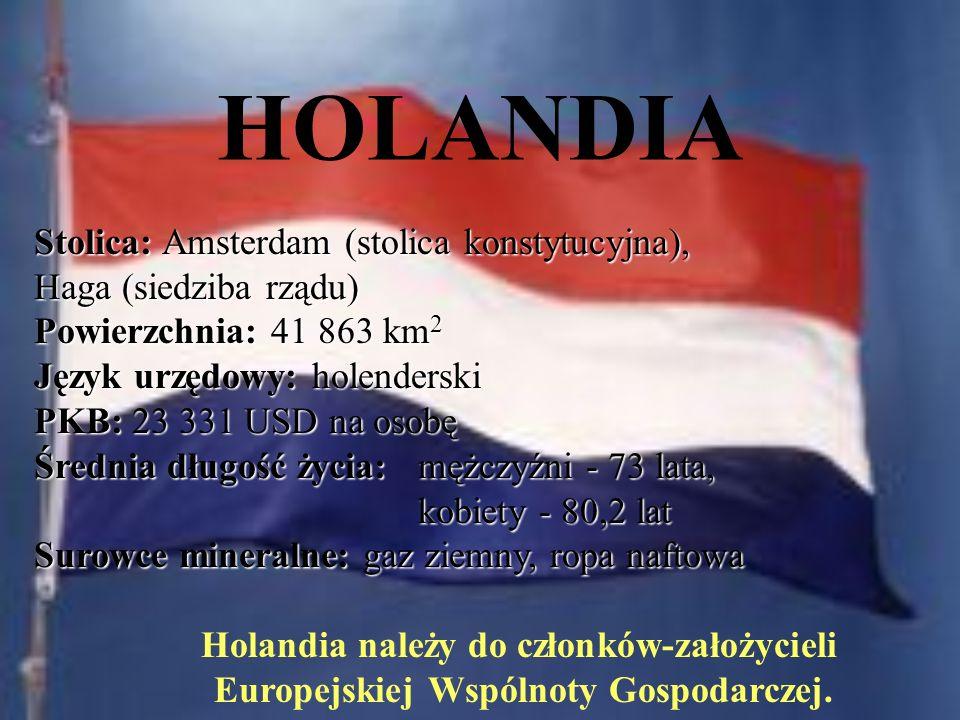 Holandia należy do członków-założycieli