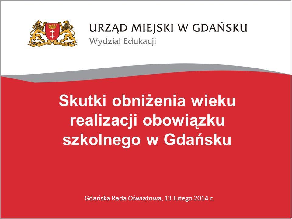 Skutki obniżenia wieku realizacji obowiązku szkolnego w Gdańsku