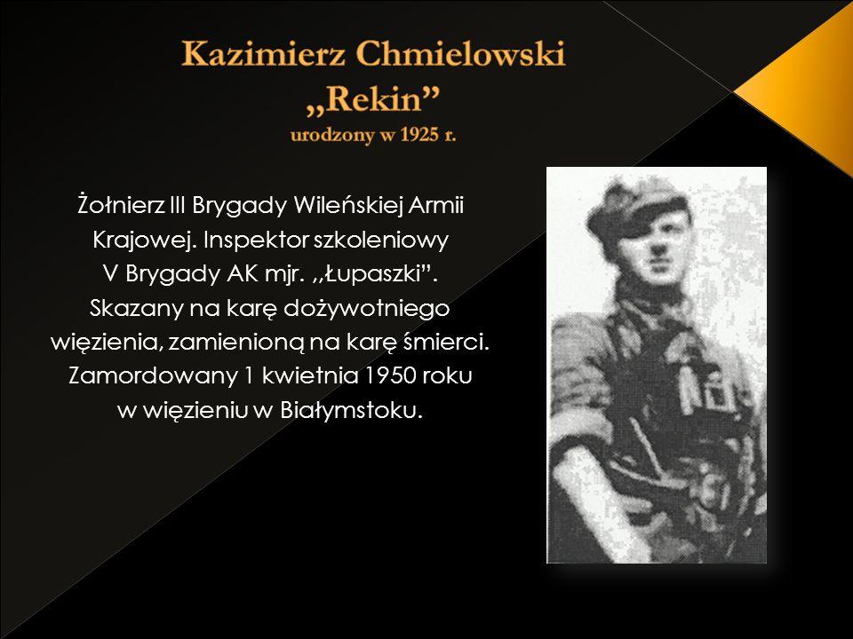 Kazimierz Chmielowski ,,Rekin urodzony w 1925 r.