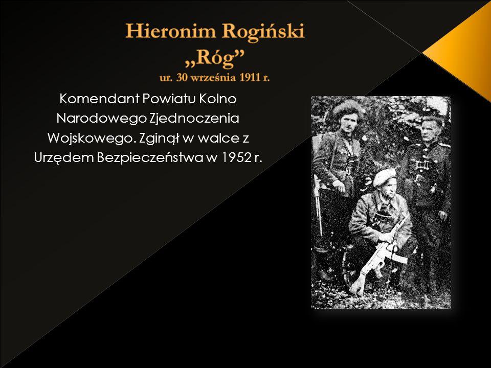 Hieronim Rogiński ,,Róg ur. 30 września 1911 r.