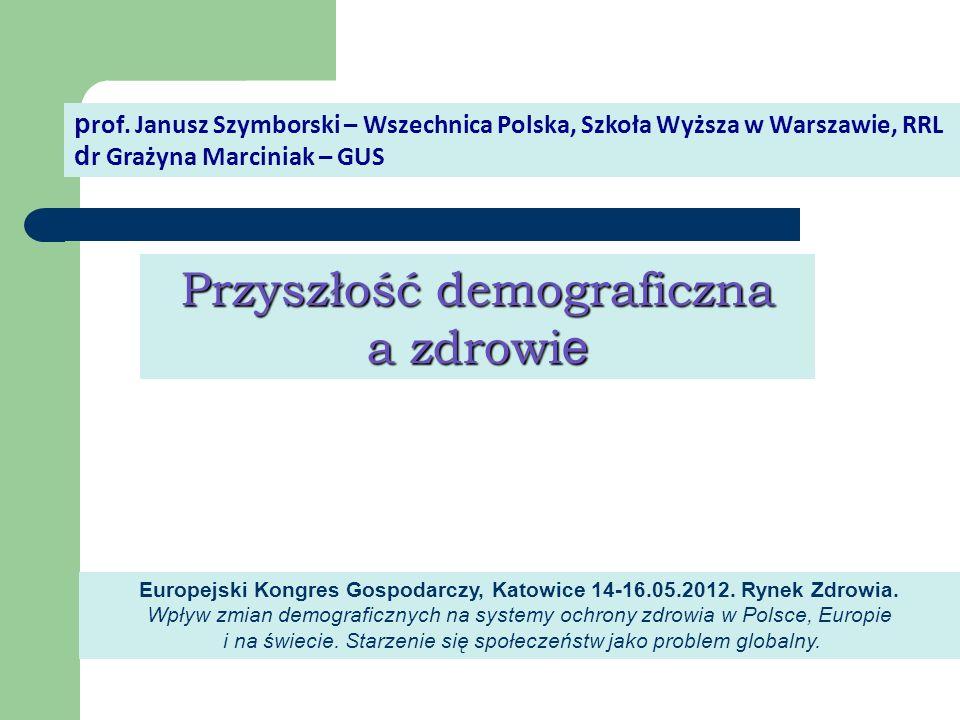 Europejski Kongres Gospodarczy, Katowice 14-16.05.2012. Rynek Zdrowia.