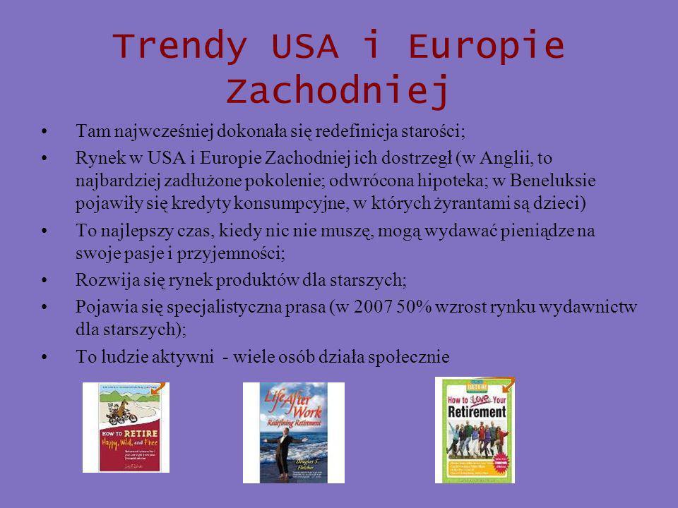 Trendy USA i Europie Zachodniej