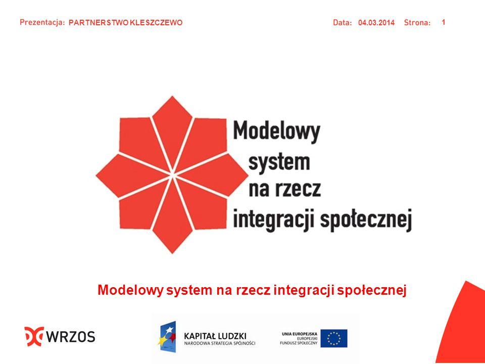 Modelowy system na rzecz integracji społecznej