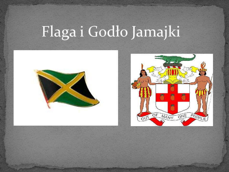 Flaga i Godło Jamajki