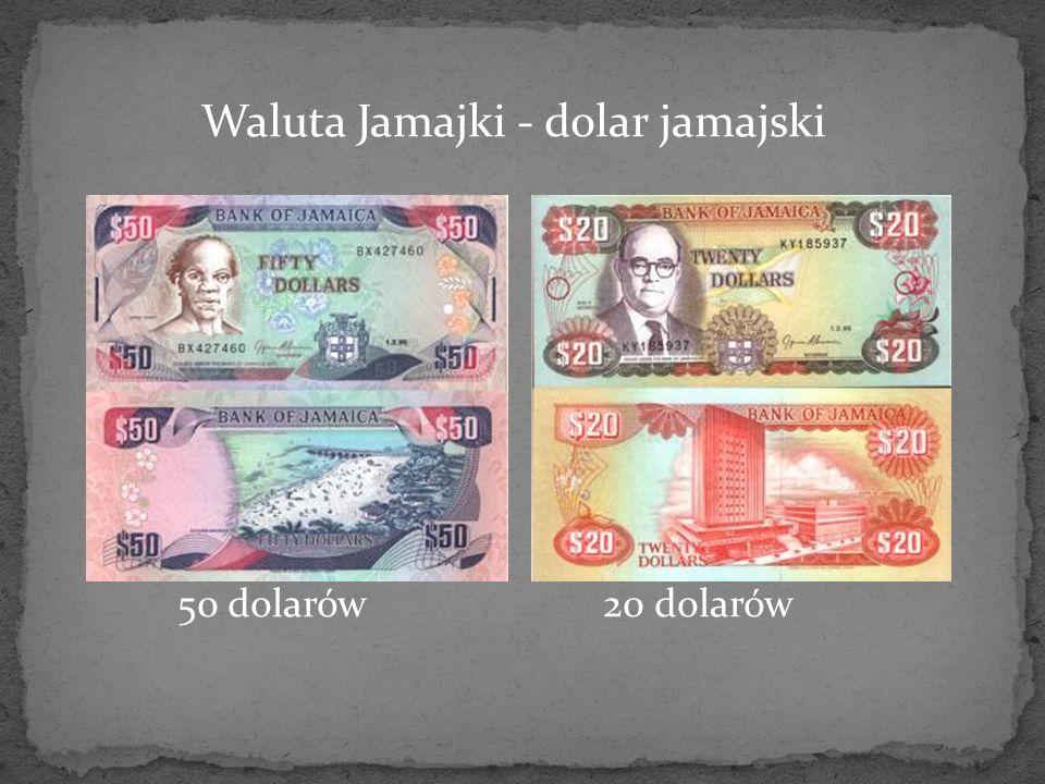 Waluta Jamajki - dolar jamajski