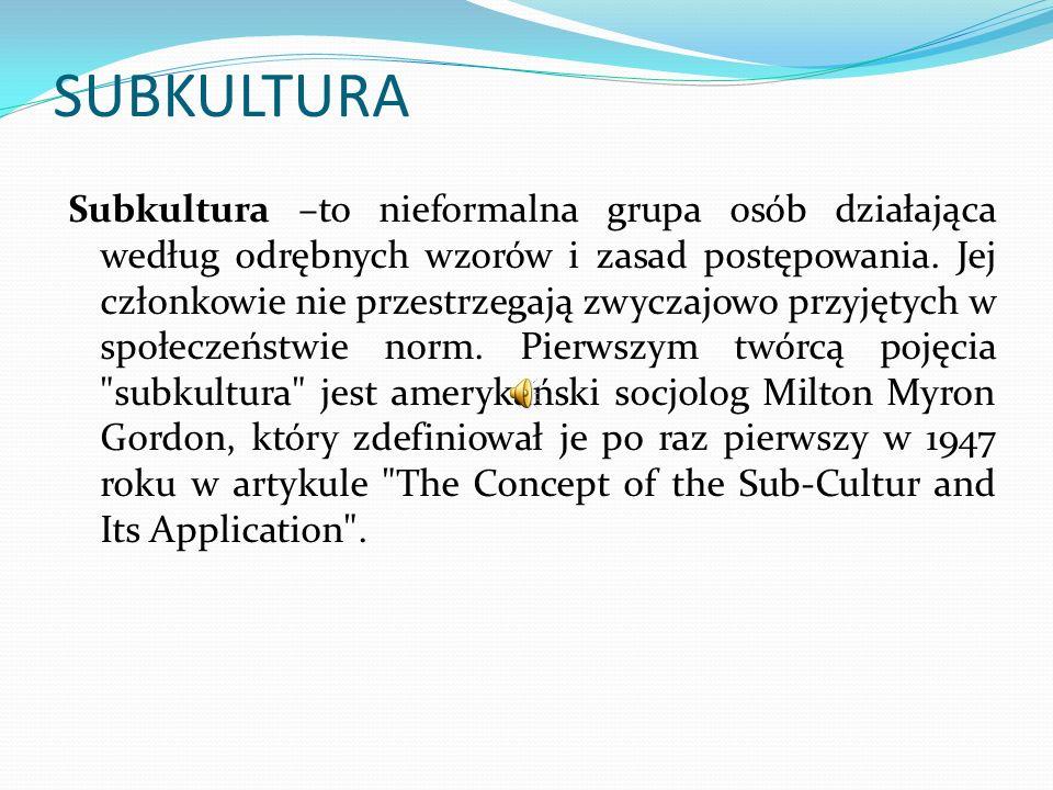 SUBKULTURA