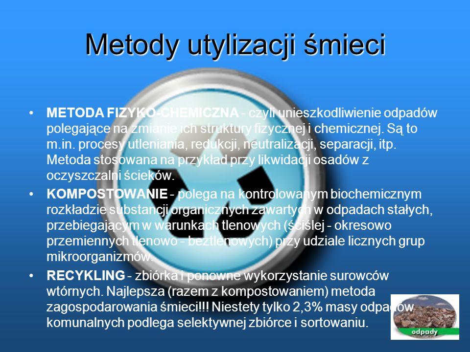 Metody utylizacji śmieci