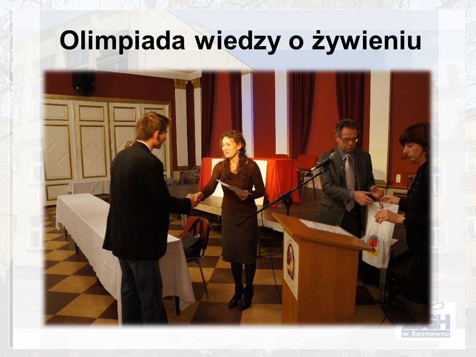 Olimpiada wiedzy o żywieniu