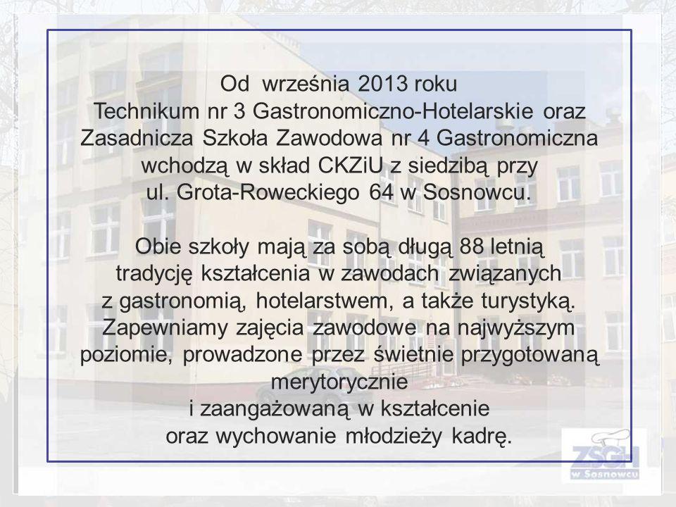 ul. Grota-Roweckiego 64 w Sosnowcu.