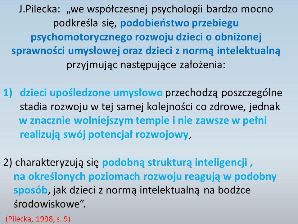 """J.Pilecka: """"we współczesnej psychologii bardzo mocno"""