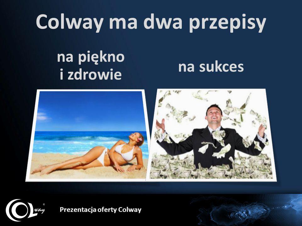 Colway ma dwa przepisy na piękno i zdrowie na sukces
