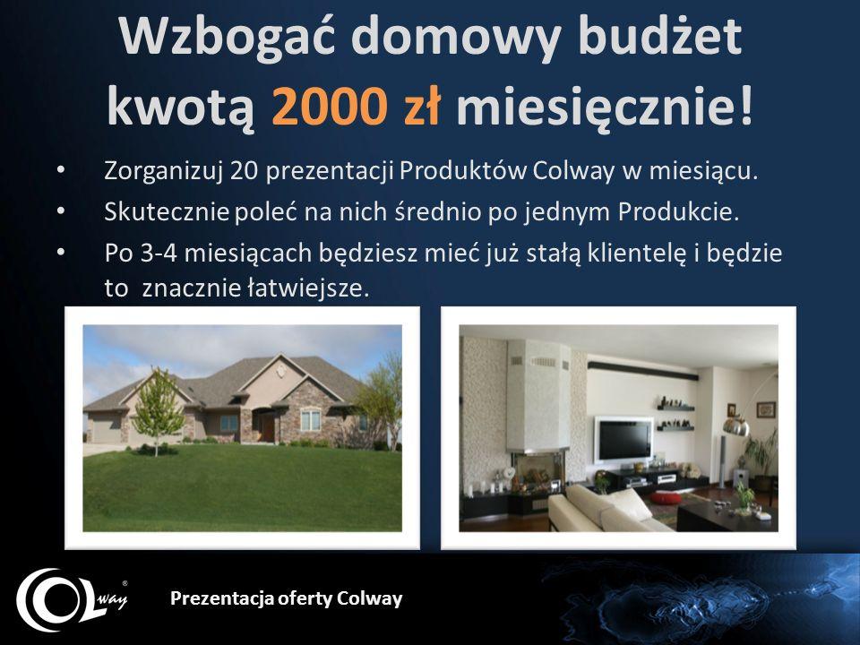 Wzbogać domowy budżet kwotą 2000 zł miesięcznie!