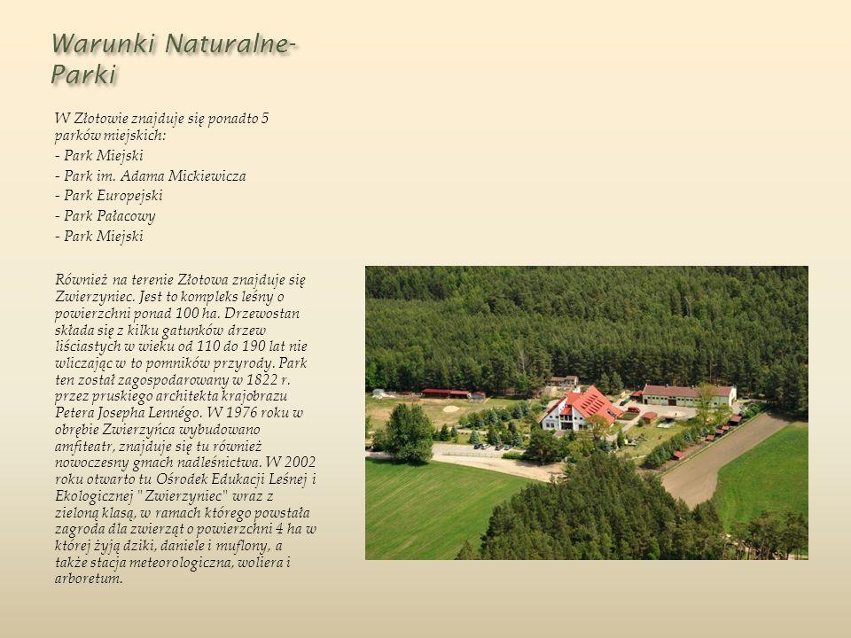 Warunki Naturalne-Parki