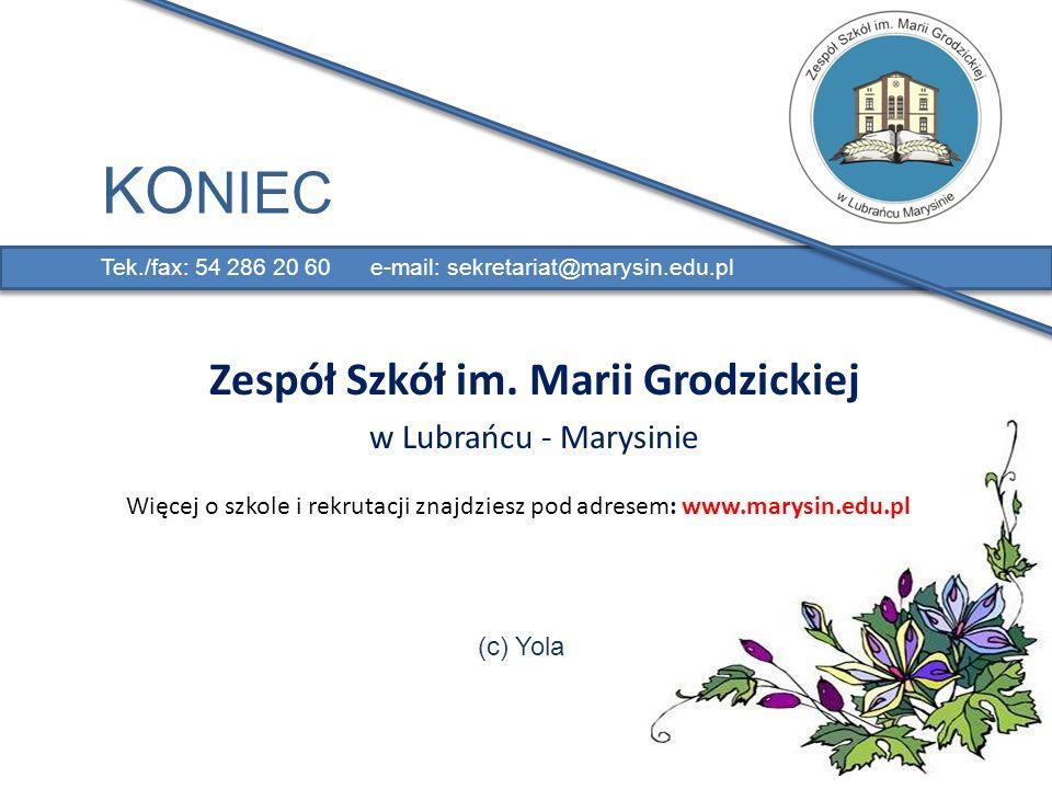 Zespół Szkół im. Marii Grodzickiej