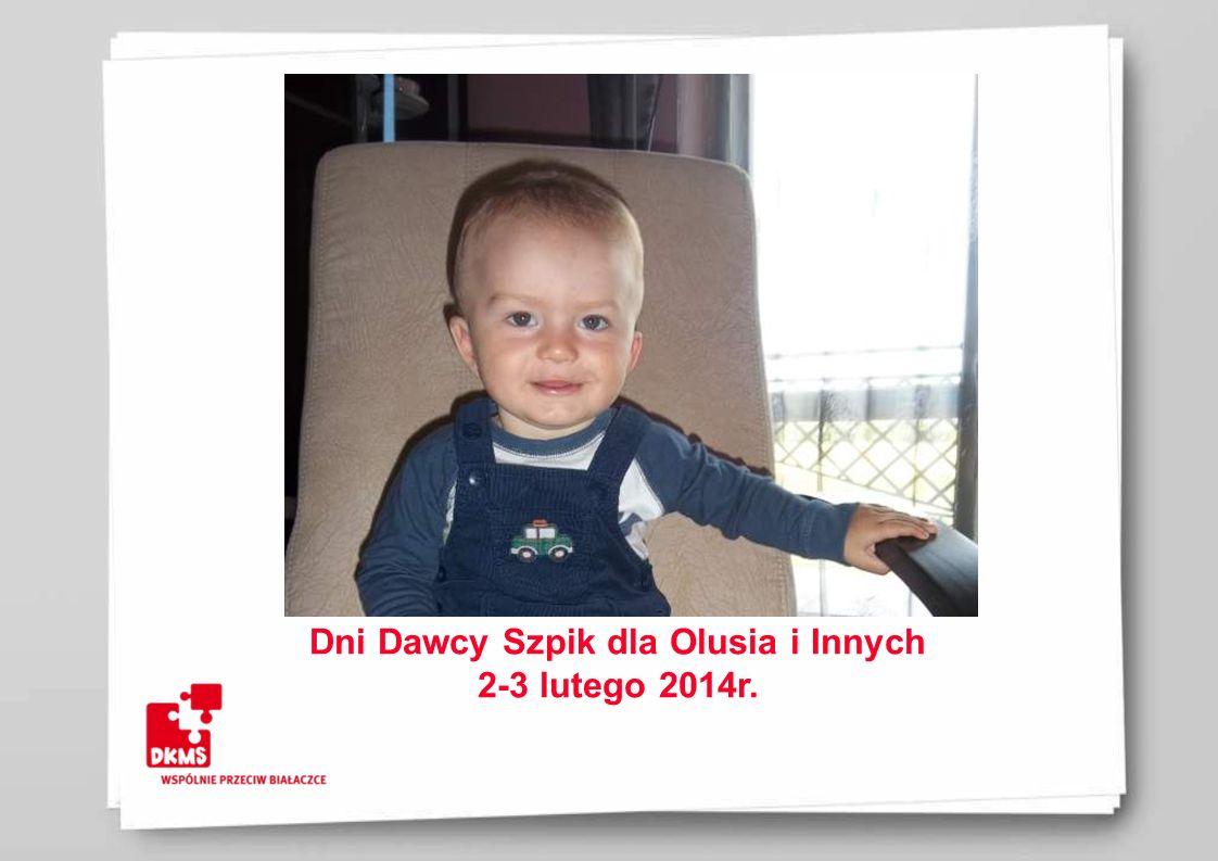 Dni Dawcy Szpik dla Olusia i Innych