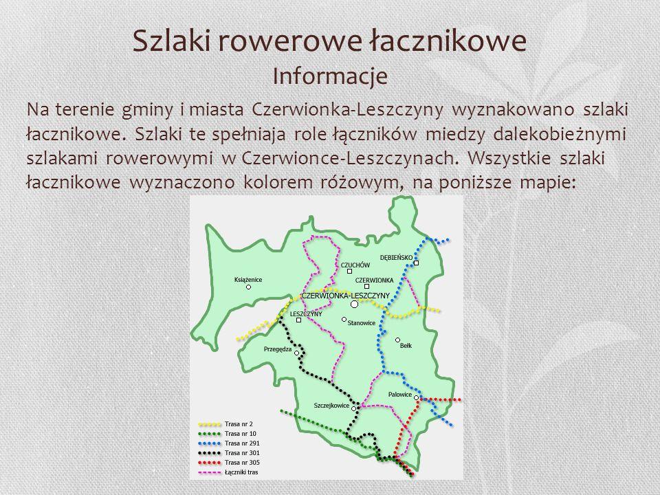 Szlaki rowerowe łacznikowe Informacje