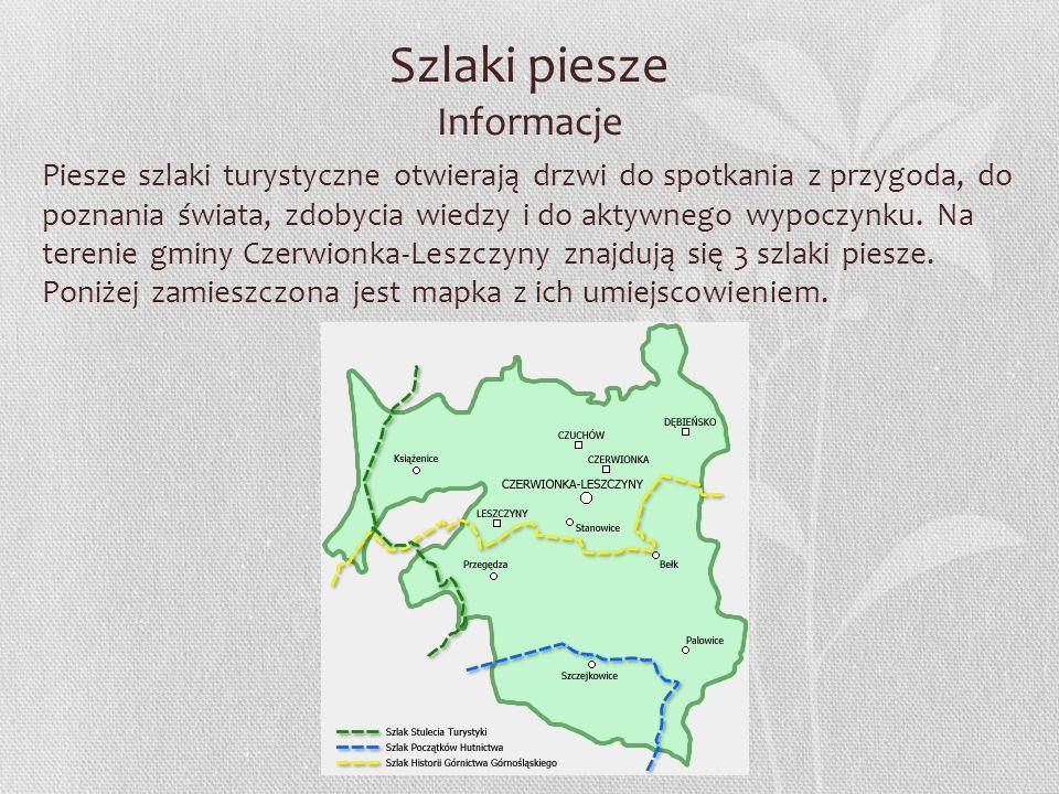 Szlaki piesze Informacje