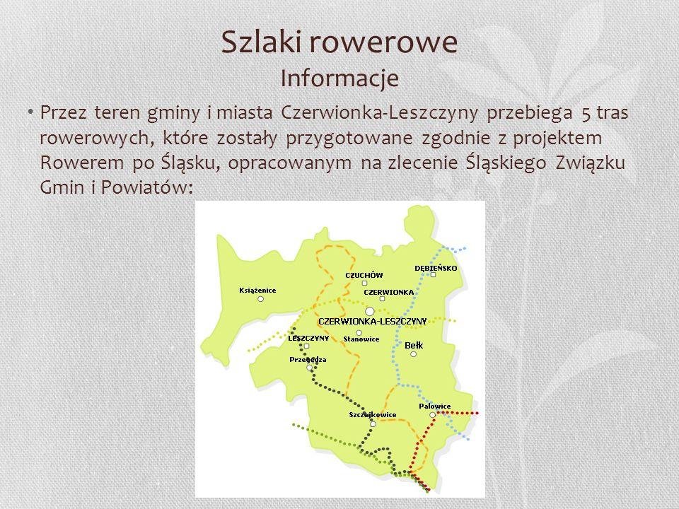 Szlaki rowerowe Informacje