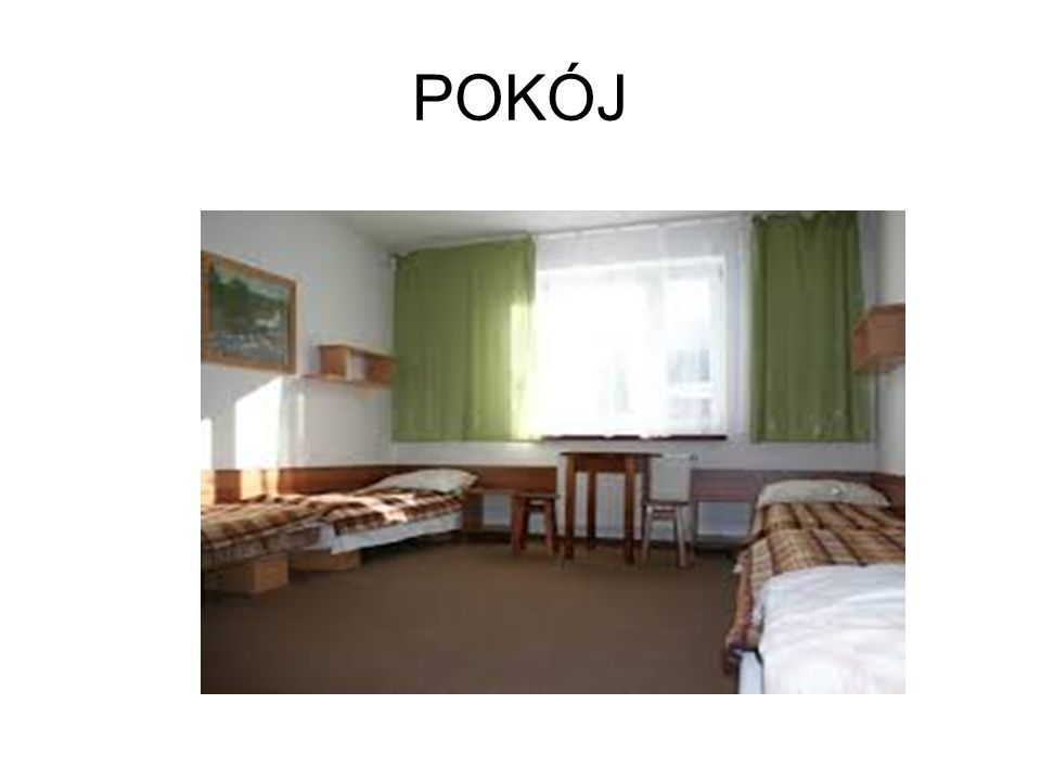 POKÓJ