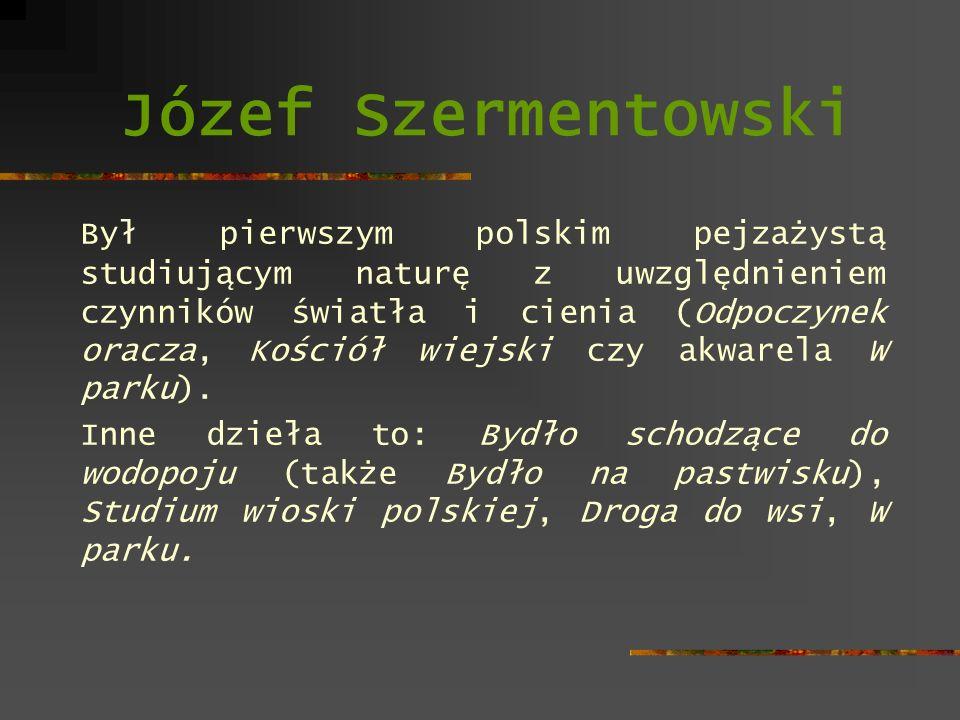 Józef Szermentowski