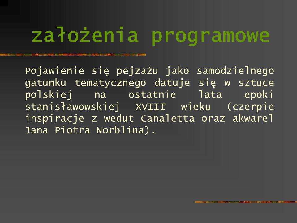 założenia programowe